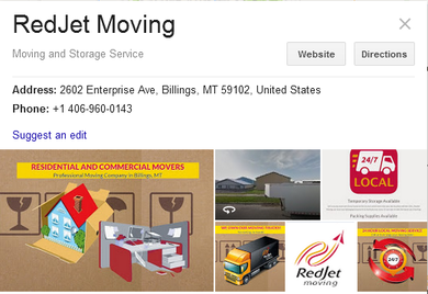 RedJet Moving - Location