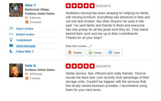 Redefyne Moving – Moving reviews