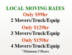 Sacramento Movers – Moving rates
