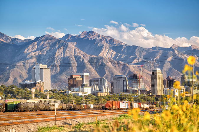 Salt Lake City has hugely diversified its economy and continues to be a major commercial hub