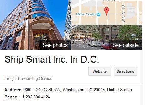 Ship Smart Inc – Location