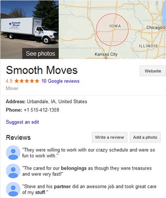 Smooth Moves – Location