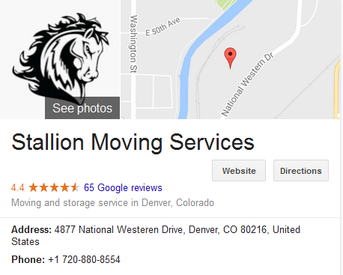 Stallion Moving Services – Location