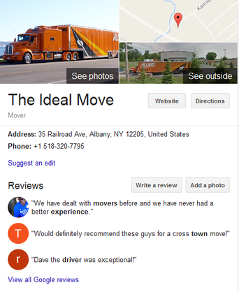 The Ideal Move – Location