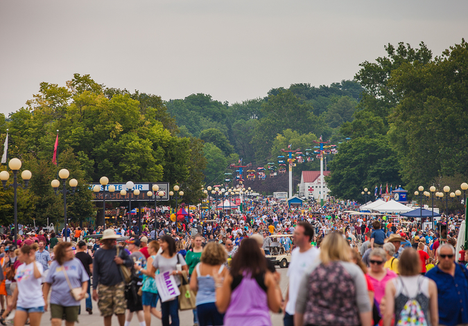 The Iowa State Fair attracts tens of thousands of visitors every year and is the country's biggest fair