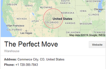 The Perfect Move – Location