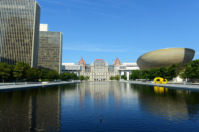 The city of Albany offers picturesque landmarks rich in history and small town charm