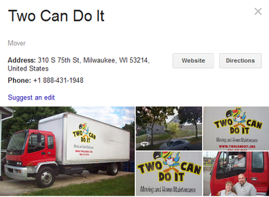 Two Can Do It – Location
