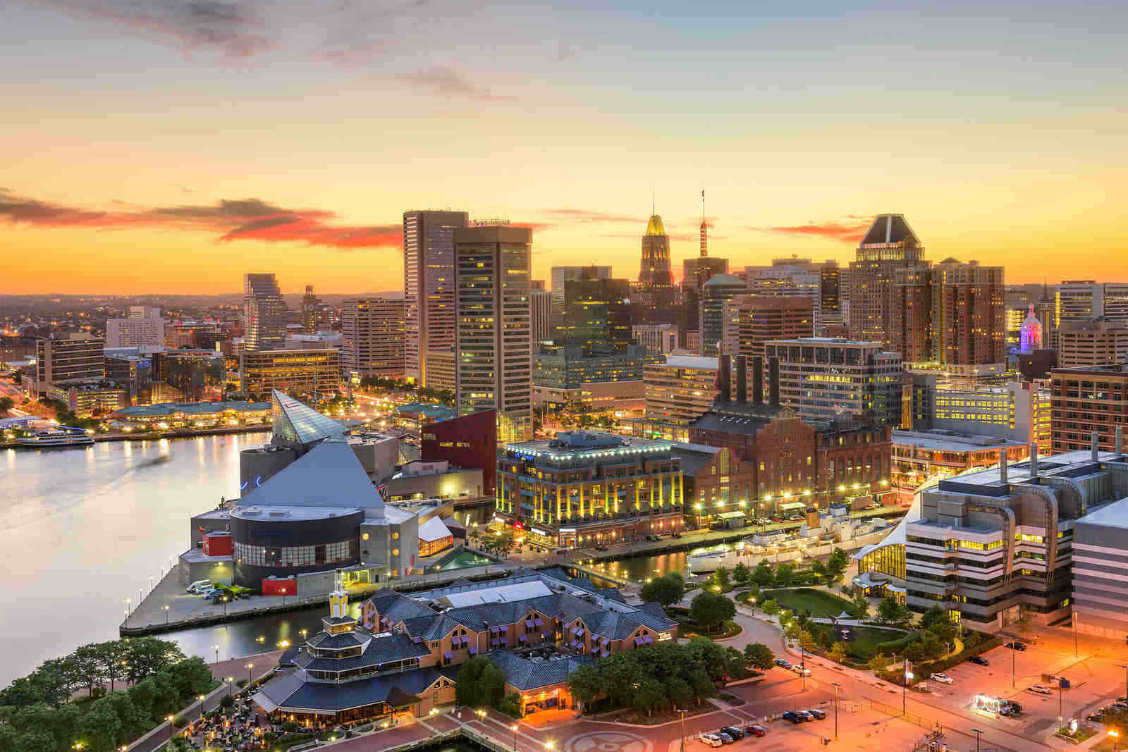 You can move to Washington DC but choose to live in beautiful Baltimore, MD