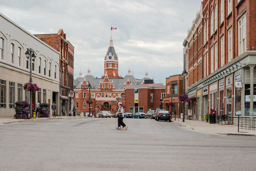 Downtown Stratford, Ontario- voted the Prettiest City in the World