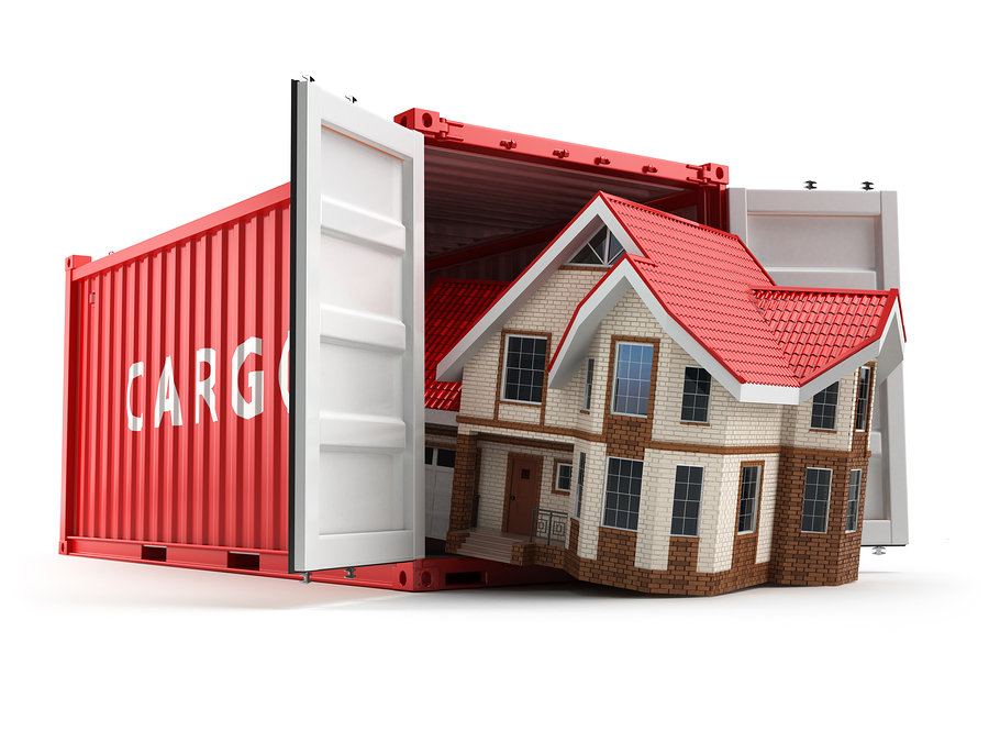 Moving containers come in different sizes to accommodate your household goods