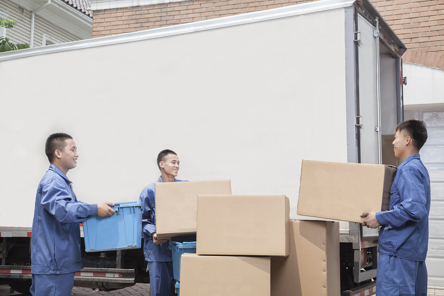 Professional moving services differ greatly from moving container services