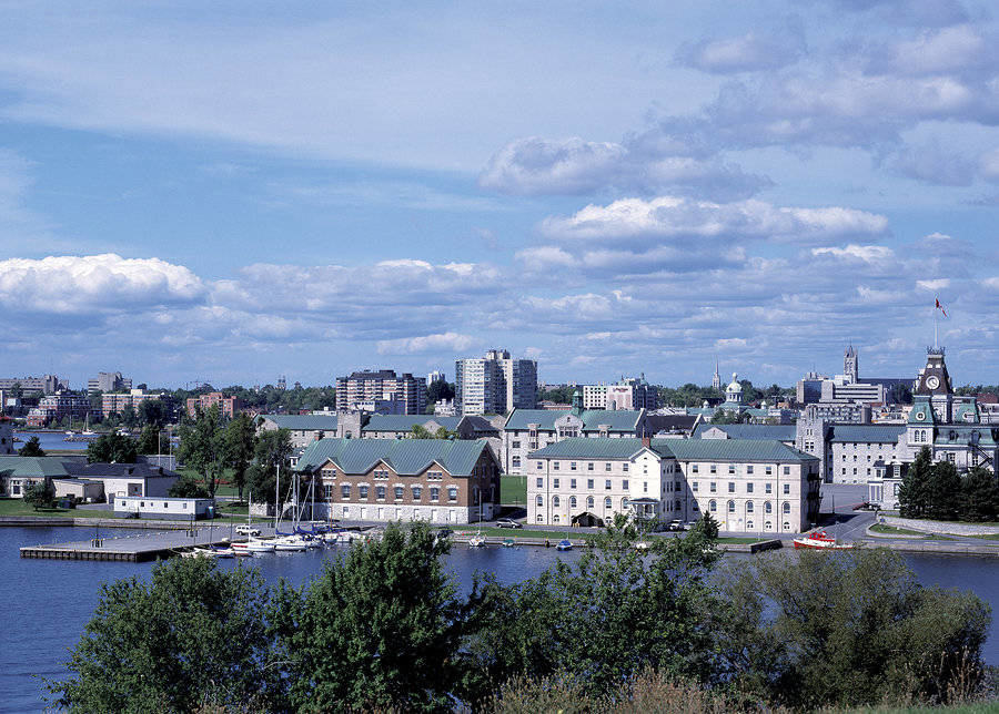 Skyline of Kingston– a retirement haven where it is sunny most of the time