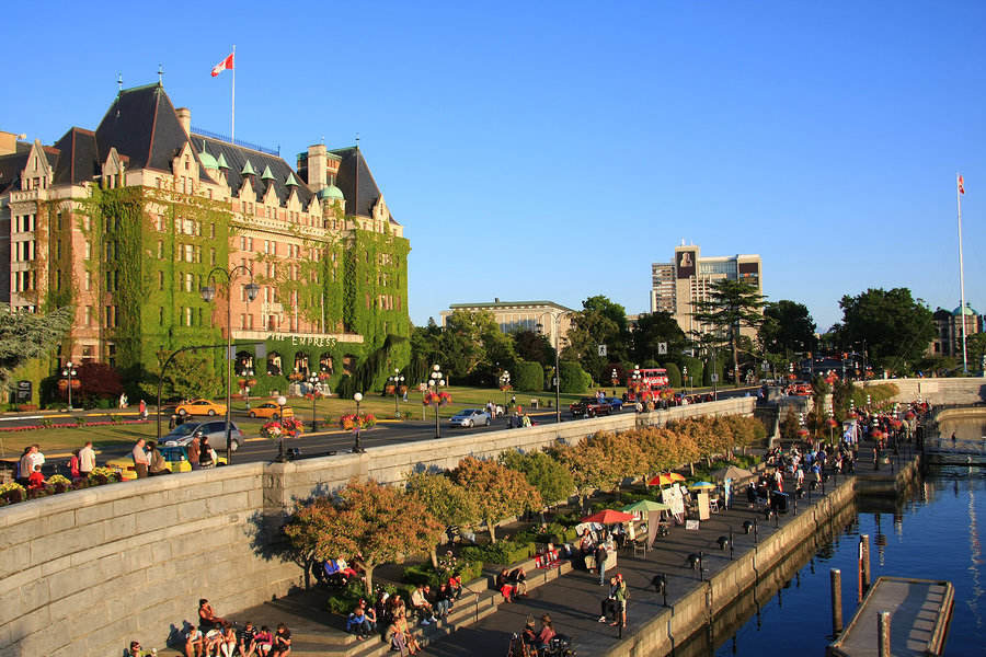 Victoria, BC – wonderful inner harbor in Vancouver Island