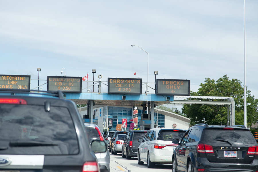 Crossing the Windsor, Canada- Detroit US Border- Ensure knowledge of customs requirements