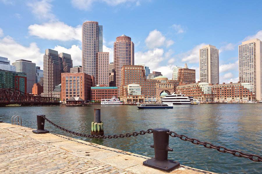 Move to Massachusetts- Skyline of downtown Boston, Massachusetts