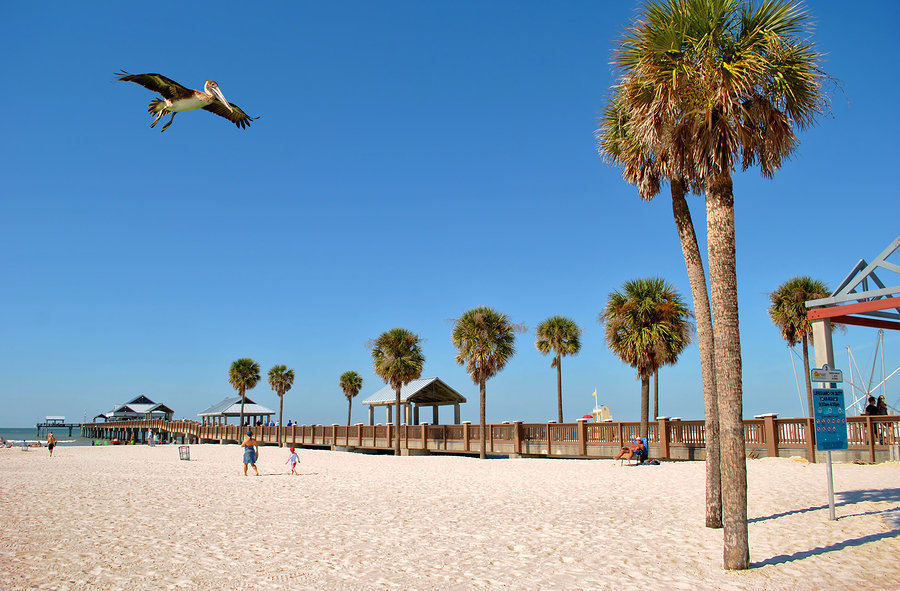 Move to the Sunshine State – Clearwater Beach, Florida
