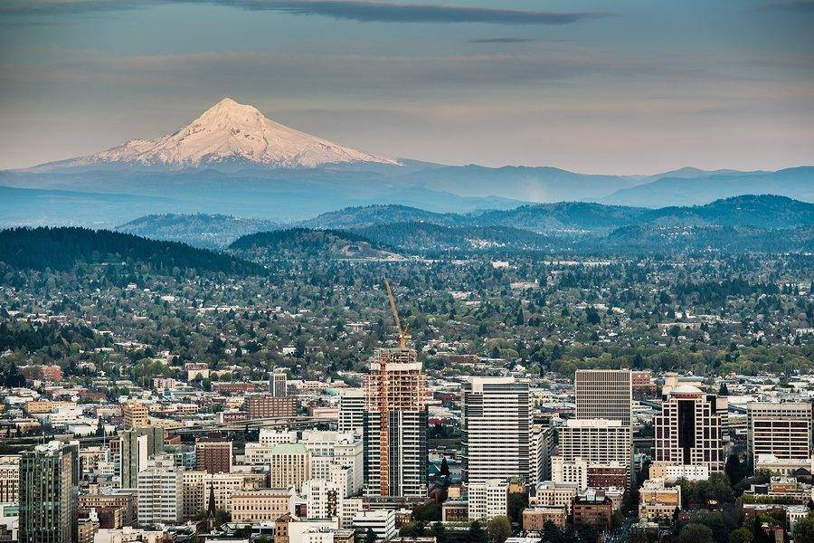 People move to enjoy scenic views like Mt. Hood in Portland, Oregon