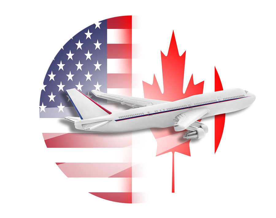 Plane United States And Canada Flags 5 Movers Quotes