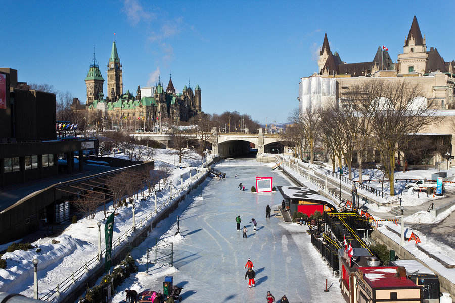 The Rideau Canal – a UNESCO World Heritage site