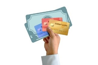 Moving companies offer different methods of payment.