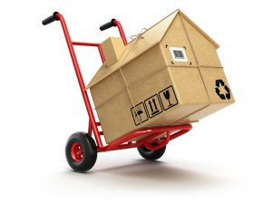 Moving containers are easy to use and cost much less than a conventional storage unit.