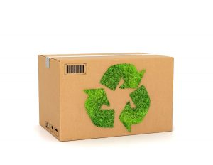 Use eco-friendly packing materials such as reusable bins rather than new boxes.