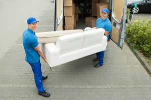Professional movers know how to load and unload your belongings to avoid damage.
