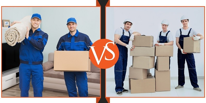 Choose a moving package with 2 or 3 movers based on the size of your move and save time and money.