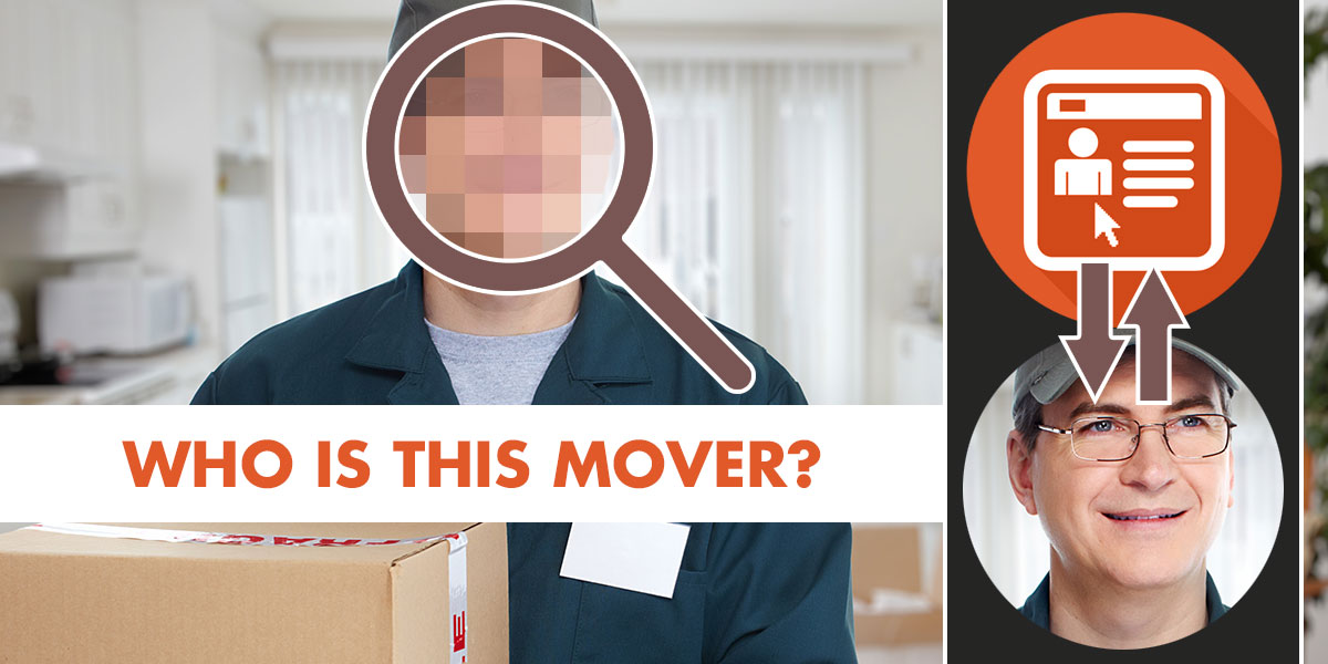 Verify the background of a mover before hiring to avoid potential problems.